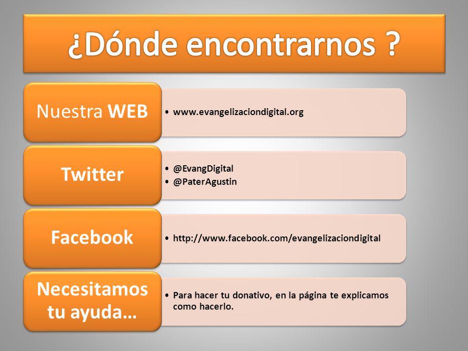 ¿Dónde encontrarnos Nuestra WEB