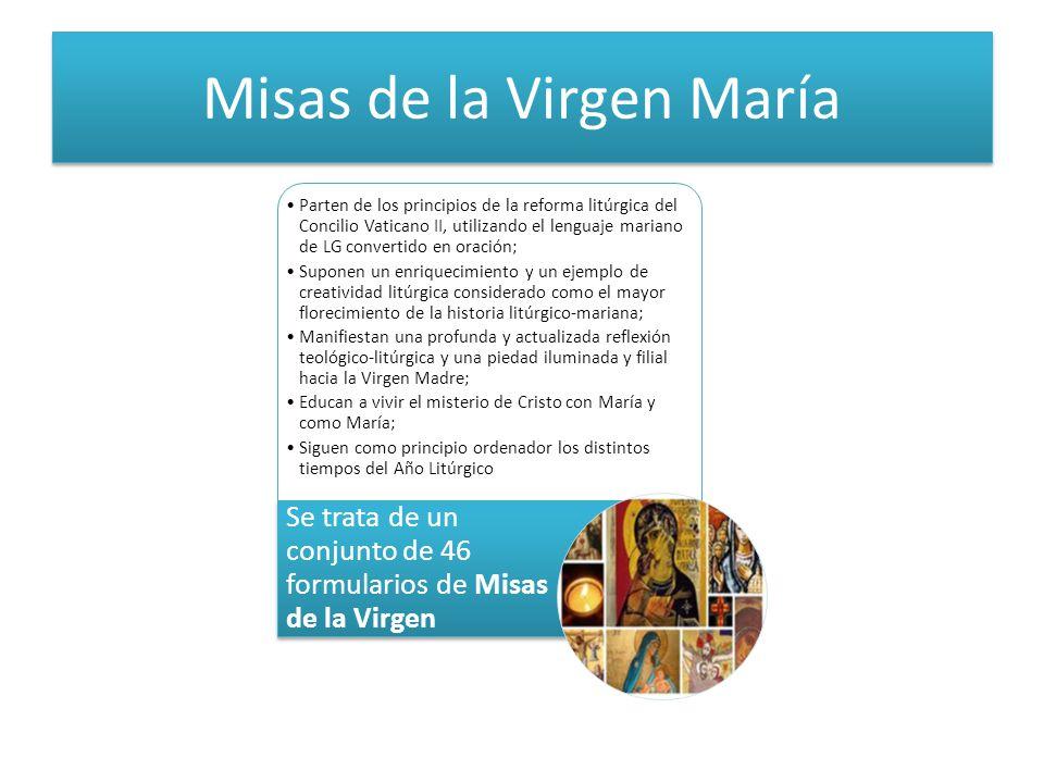 Misas de la Virgen María