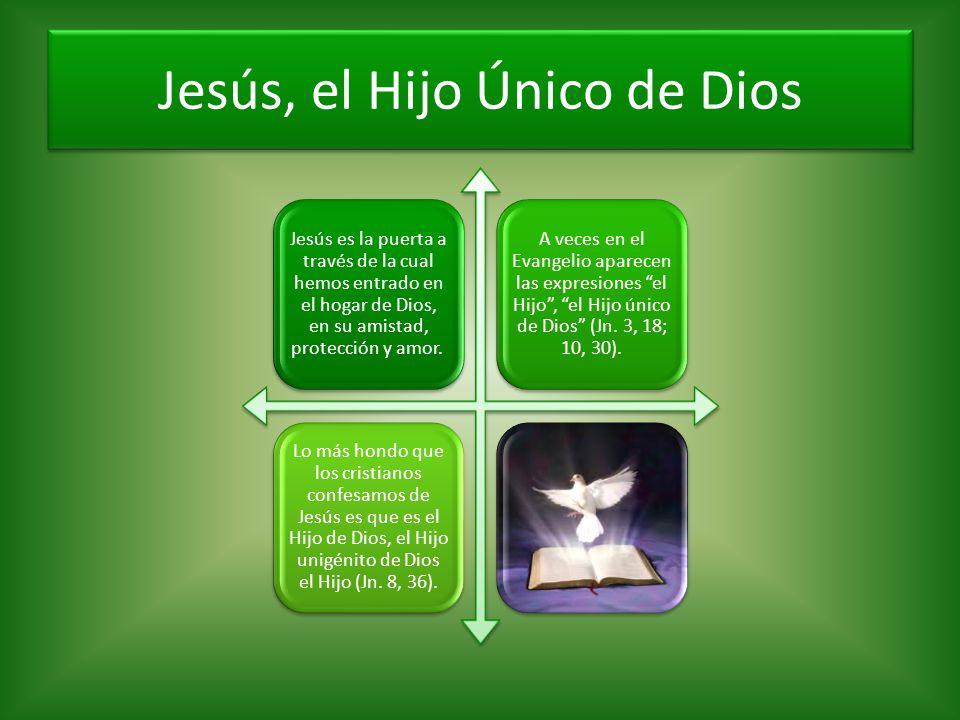 Jesús, el Hijo Único de Dios