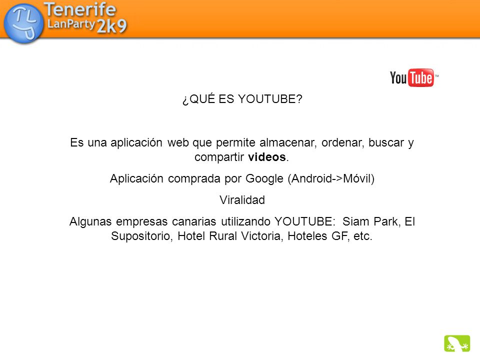 Aplicación comprada por Google (Android->Móvil)