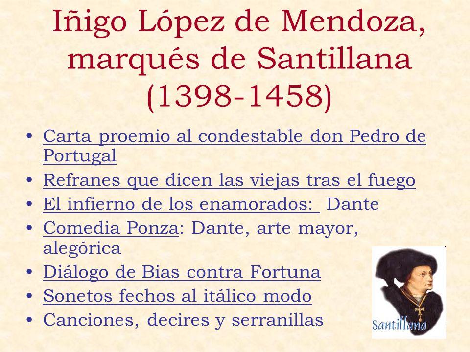 Iñigo López de Mendoza, marqués de Santillana (1398-1458)