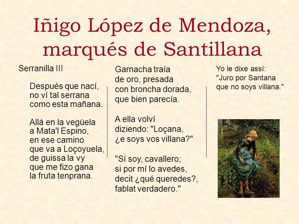 Iñigo López de Mendoza, marqués de Santillana