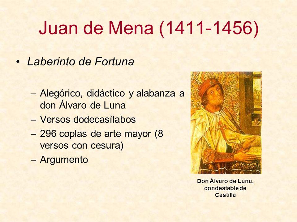 Don Álvaro de Luna, condestable de Castilla