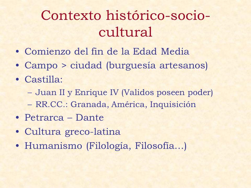 Contexto histórico-socio-cultural