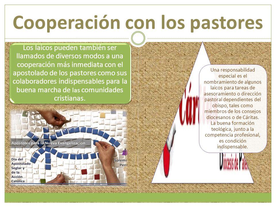 Cooperación con los pastores