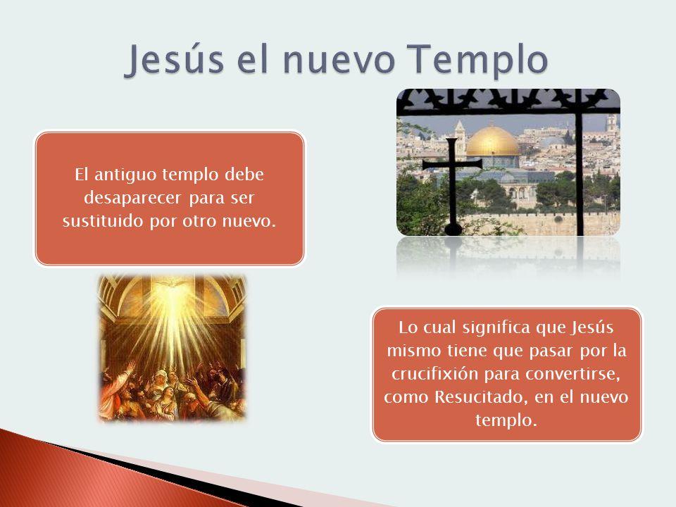 El antiguo templo debe desaparecer para ser sustituido por otro nuevo.