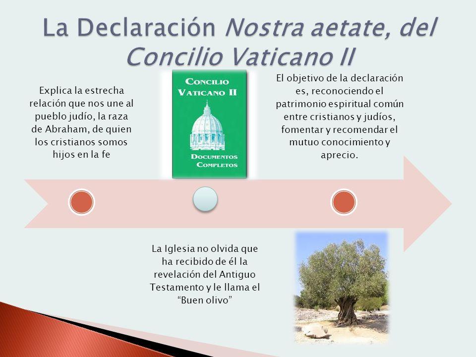 La Declaración Nostra aetate, del Concilio Vaticano II