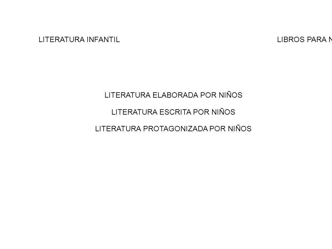 LITERATURA INFANTIL LIBROS PARA NIÑOS
