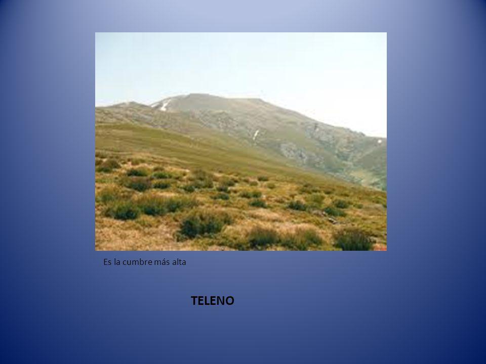 Es la cumbre más alta TELENO