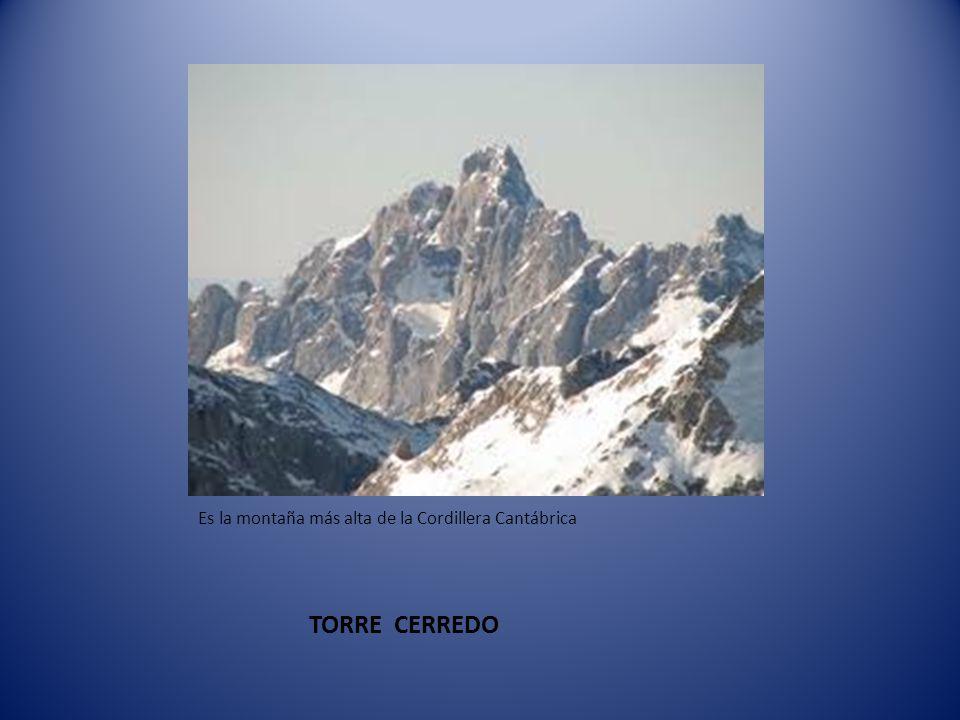 Es la montaña más alta de la Cordillera Cantábrica