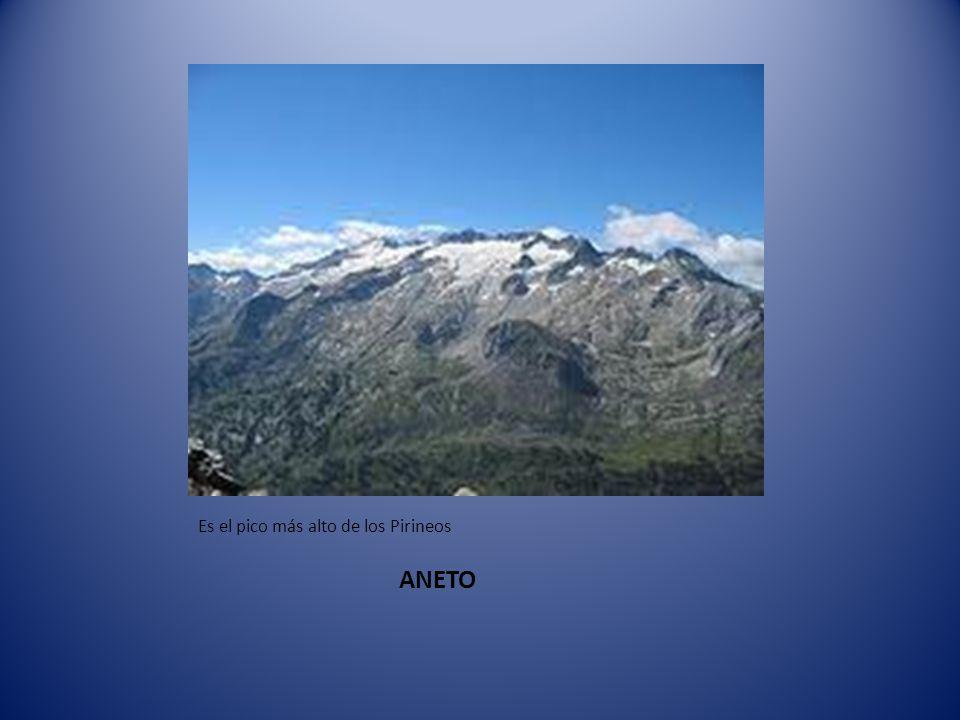 Es el pico más alto de los Pirineos