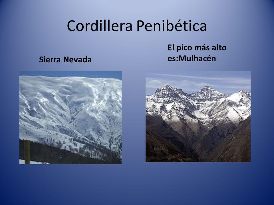 Cordillera Penibética