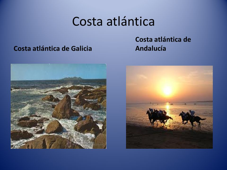 Costa atlántica Costa atlántica de Andalucía