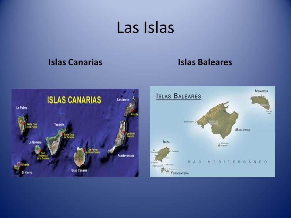 Las Islas Islas Canarias Islas Baleares