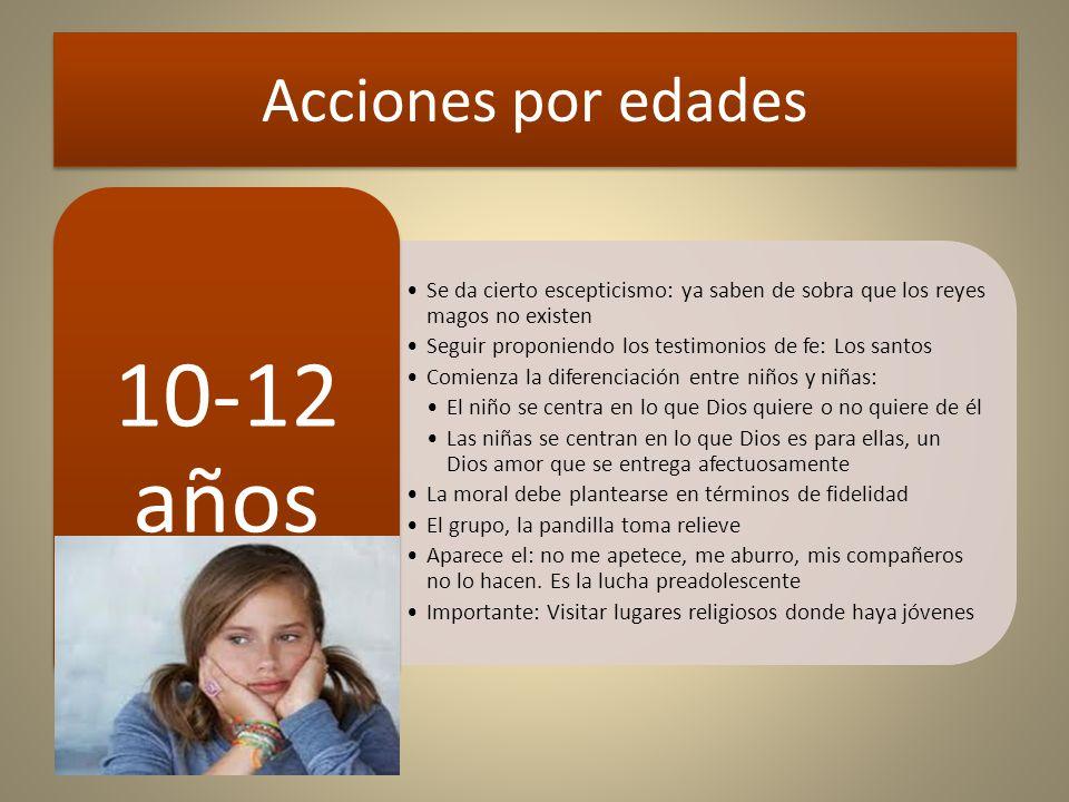 Acciones por edades 10-12 años