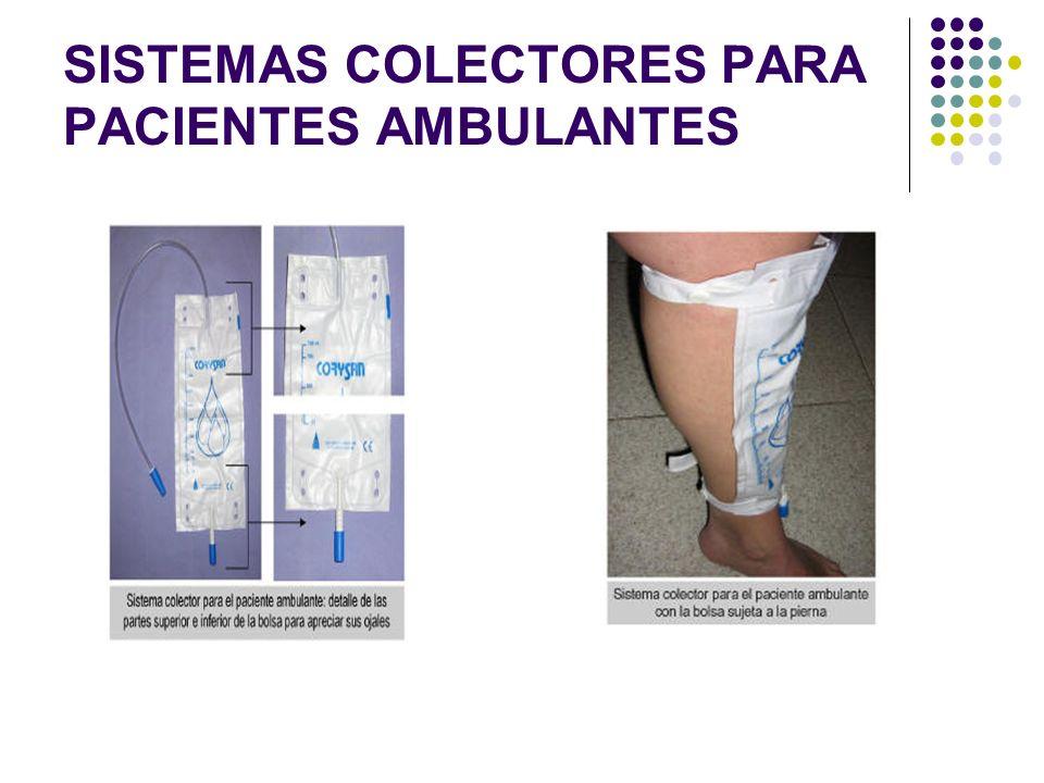 SISTEMAS COLECTORES PARA PACIENTES AMBULANTES