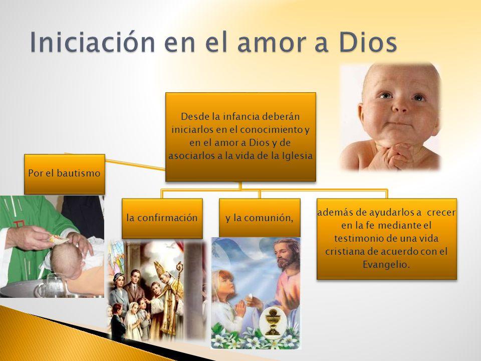 Iniciación en el amor a Dios