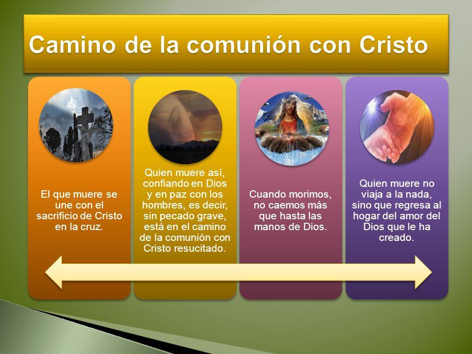 Camino de la comunión con Cristo