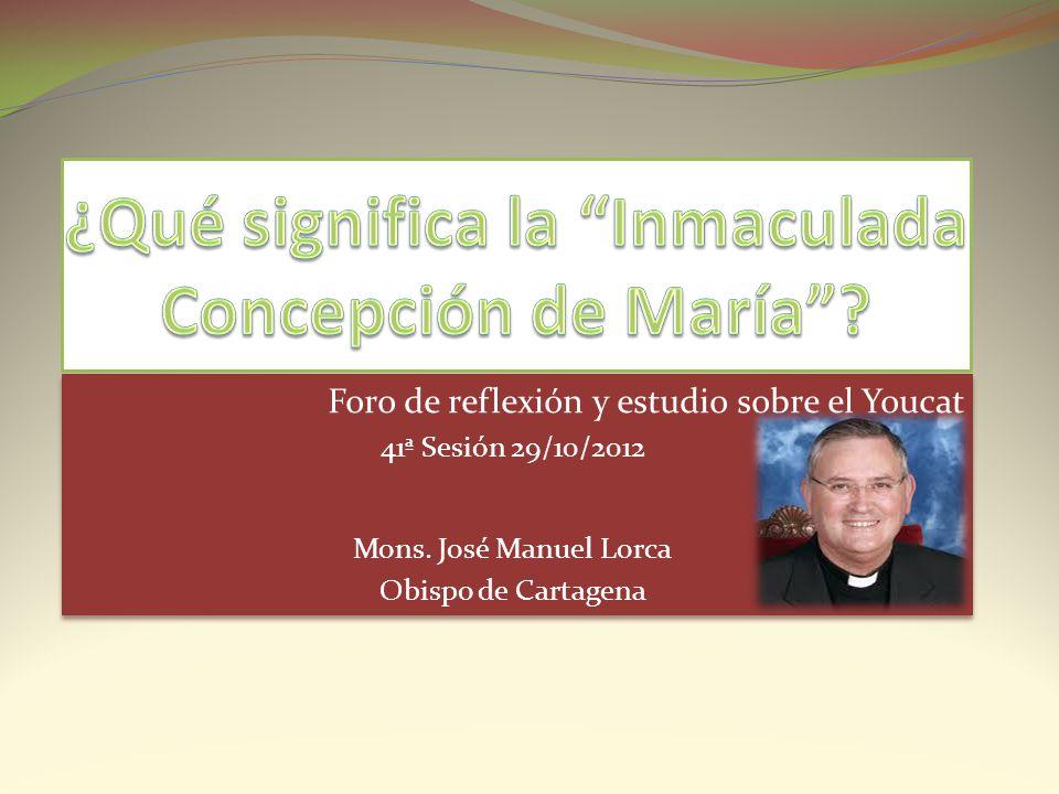 ¿Qué significa la Inmaculada Concepción de María