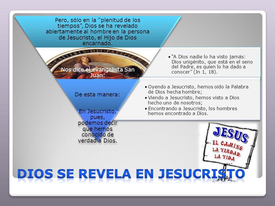Dios se revela en Jesucristo
