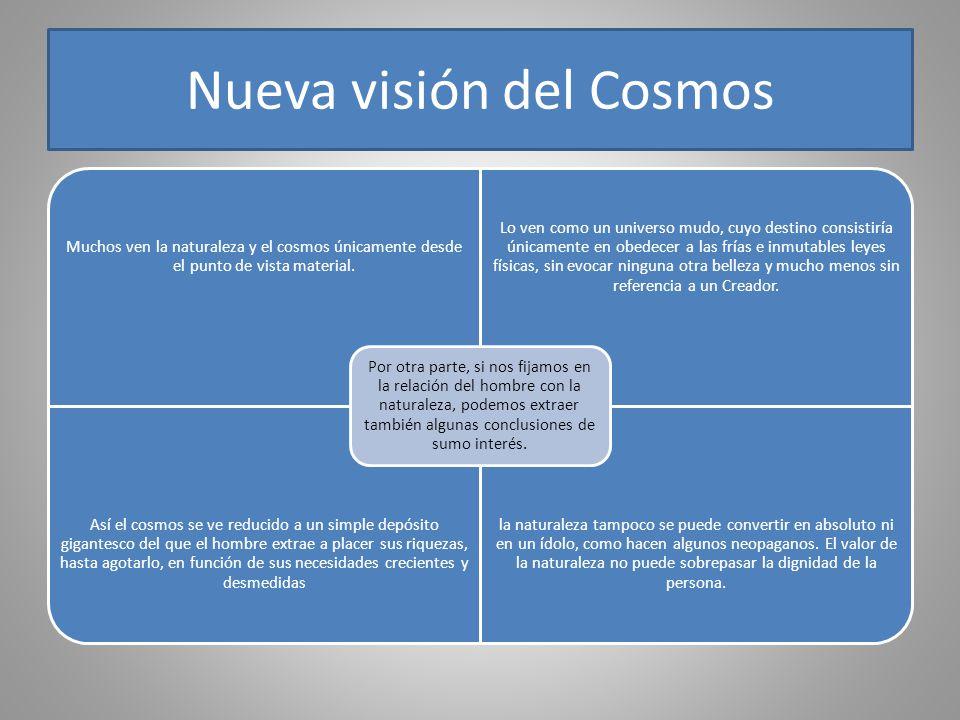 Nueva visión del Cosmos