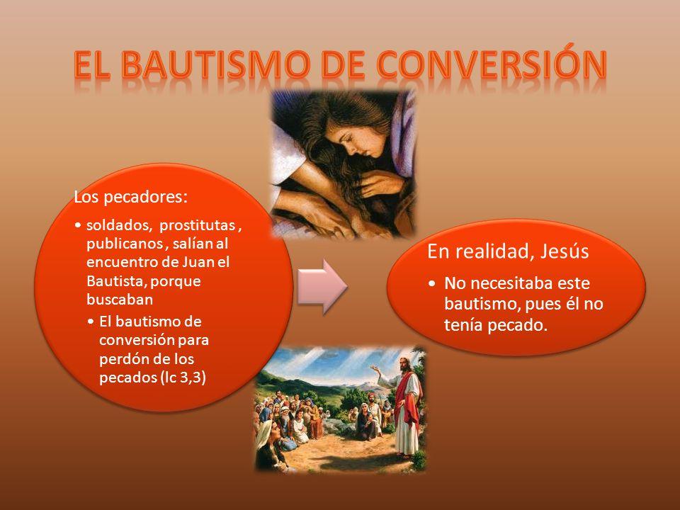 El bautismo de conversión