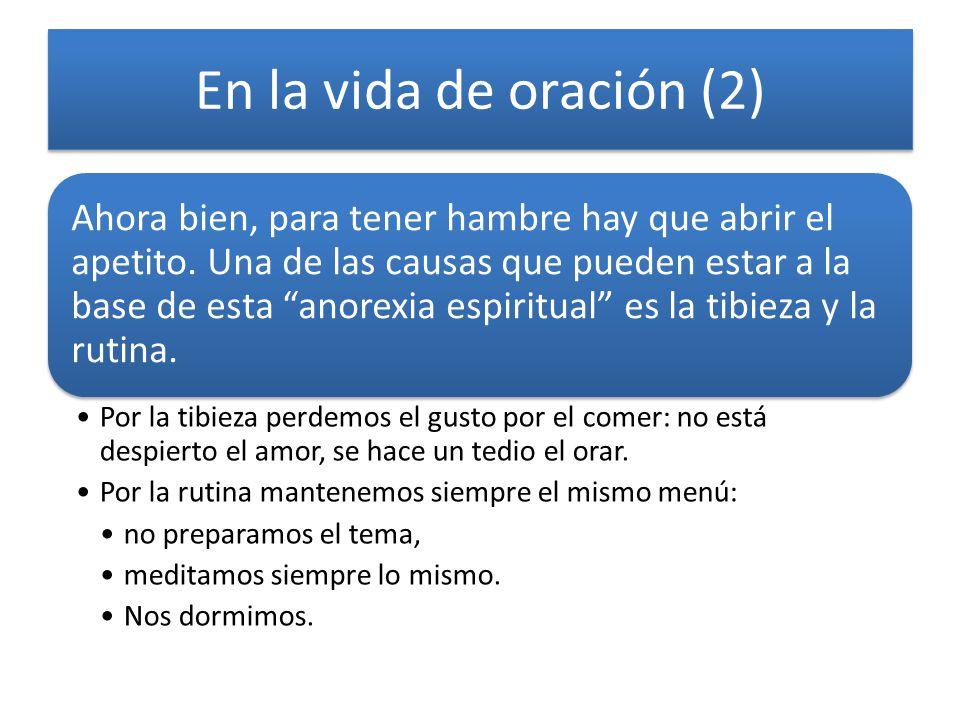 En la vida de oración (2)