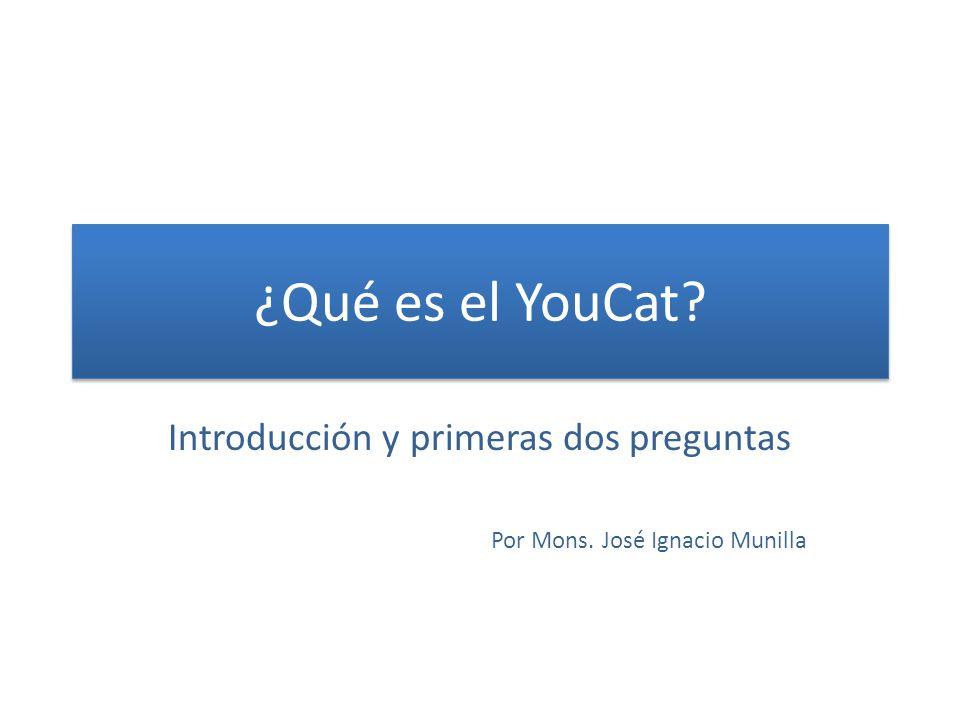Introducción y primeras dos preguntas Por Mons. José Ignacio Munilla