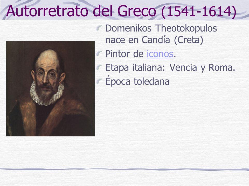 Autorretrato del Greco (1541-1614)