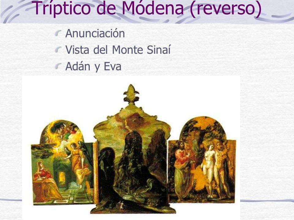 Tríptico de Módena (reverso)