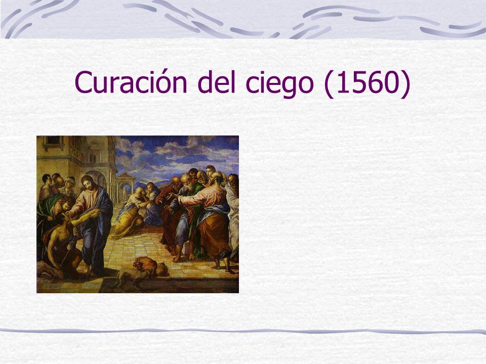 Curación del ciego (1560)