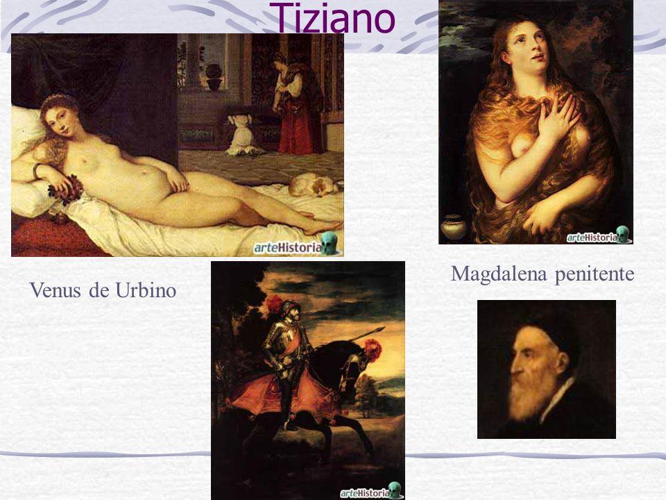 Tiziano Magdalena penitente Venus de Urbino