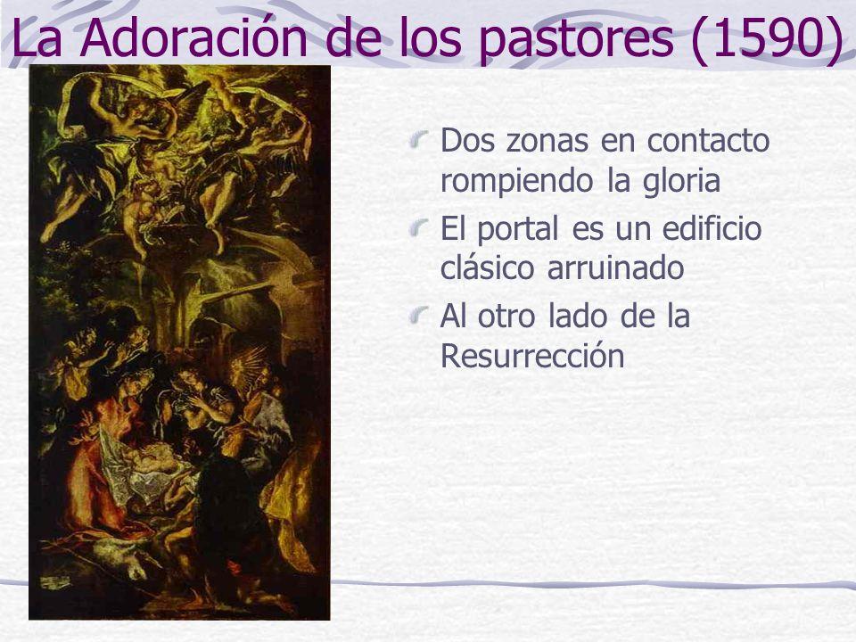La Adoración de los pastores (1590)