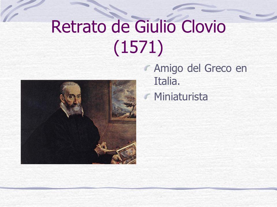 Retrato de Giulio Clovio (1571)