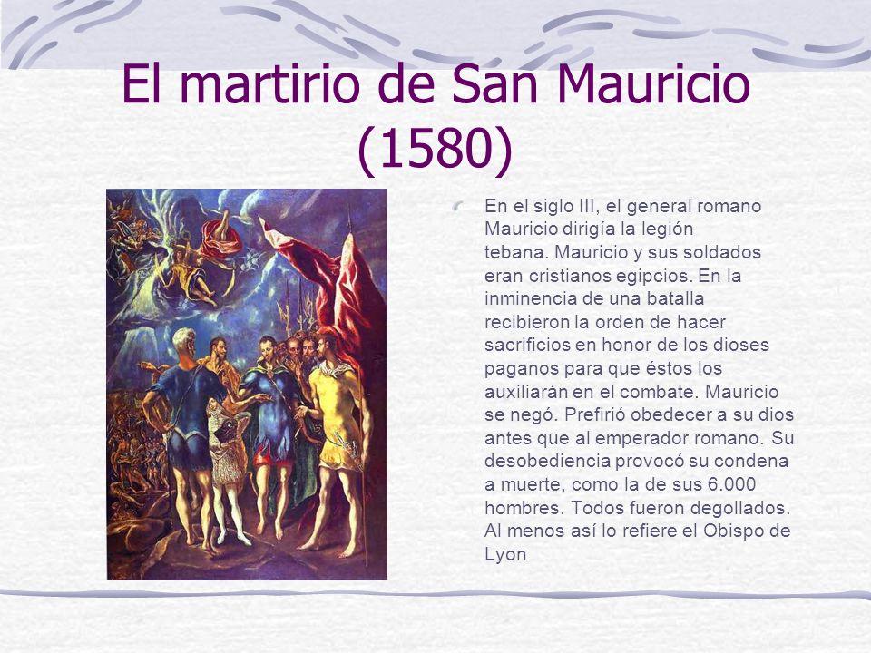 El martirio de San Mauricio (1580)