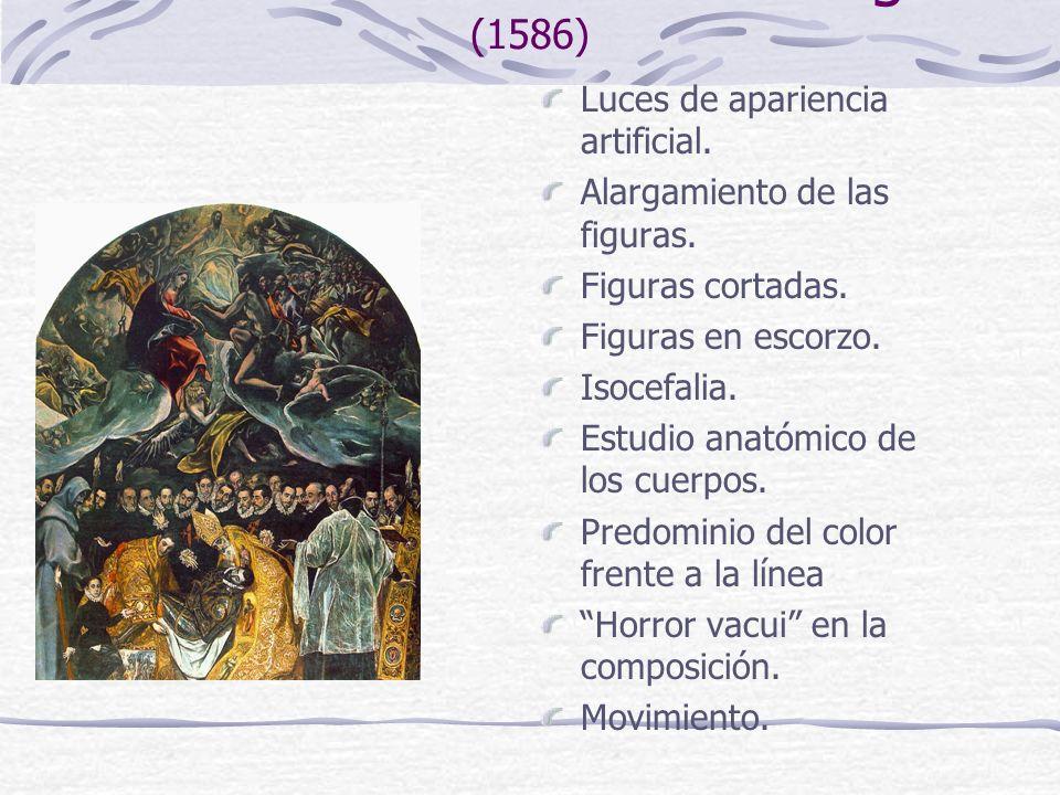 El entierro del Conde de Orgaz (1586)