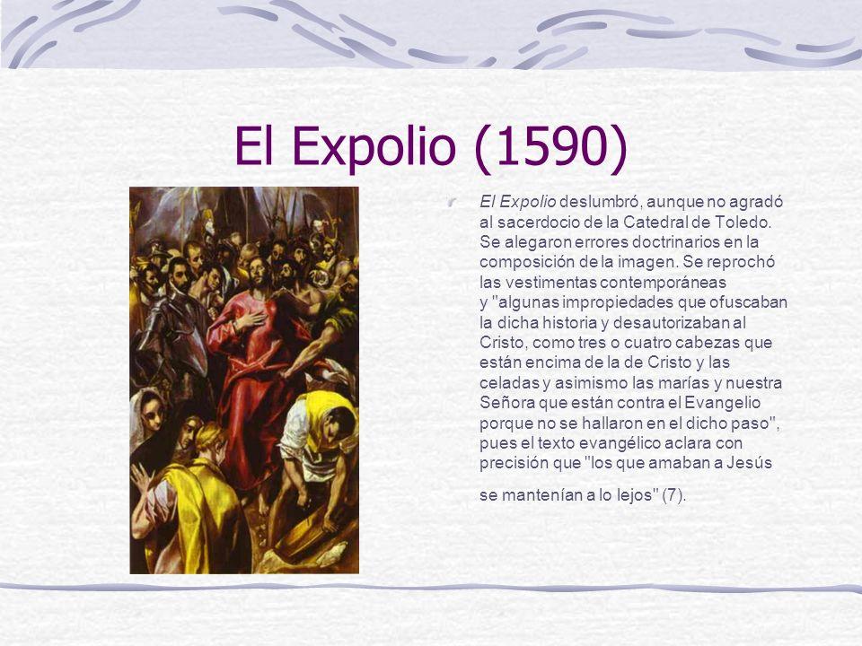 El Expolio (1590)
