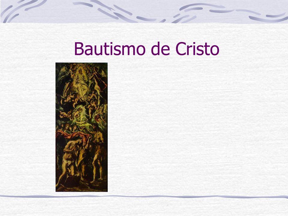 Bautismo de Cristo
