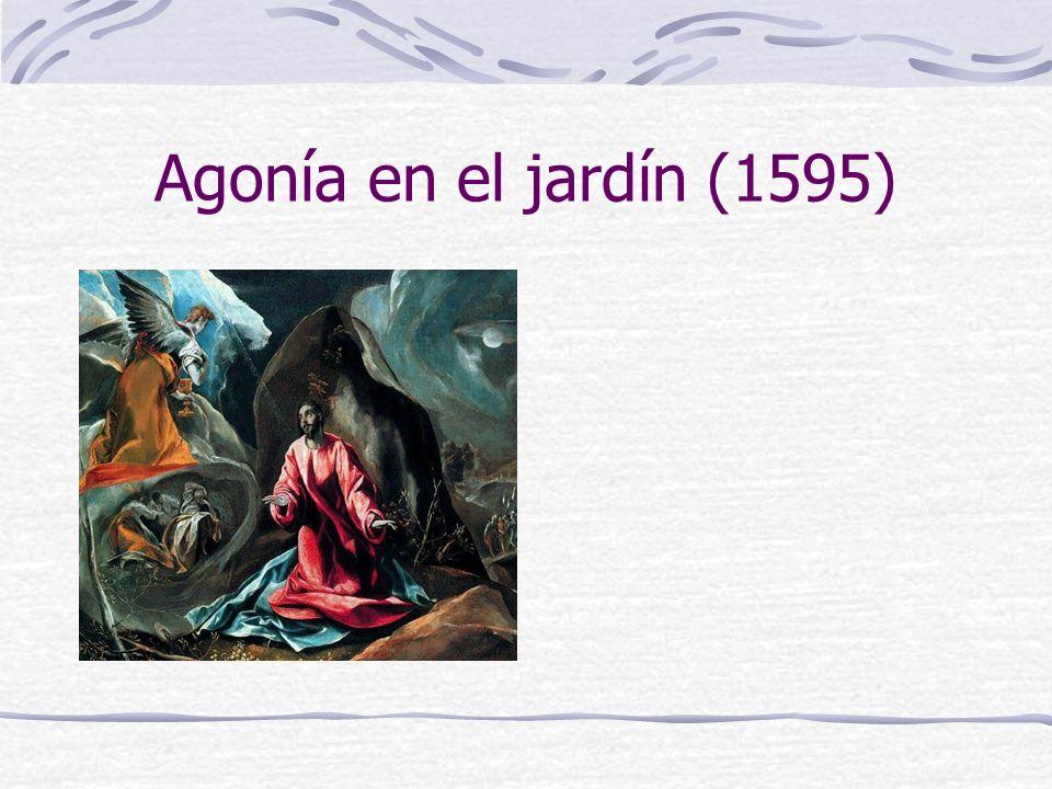 Agonía en el jardín (1595)
