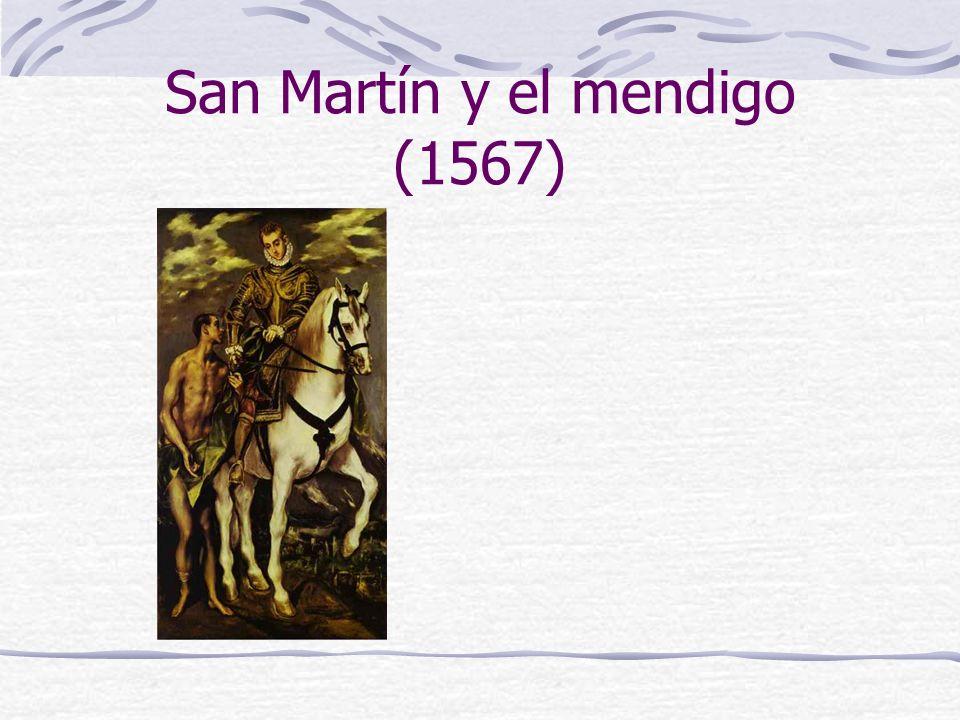 San Martín y el mendigo (1567)