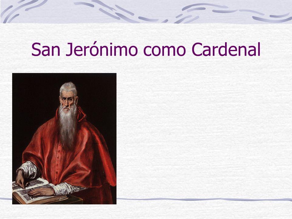 San Jerónimo como Cardenal