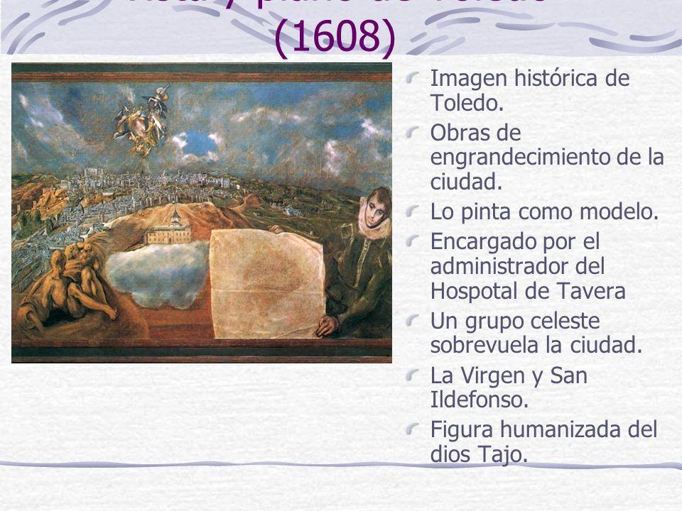 Vista y plano de Toledo (1608)