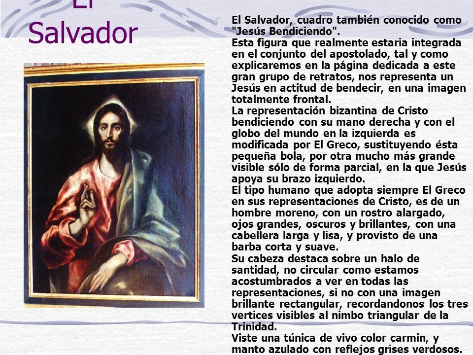 El Salvador, cuadro también conocido como Jesús Bendiciendo