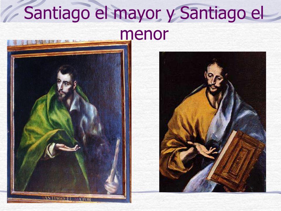 Santiago el mayor y Santiago el menor