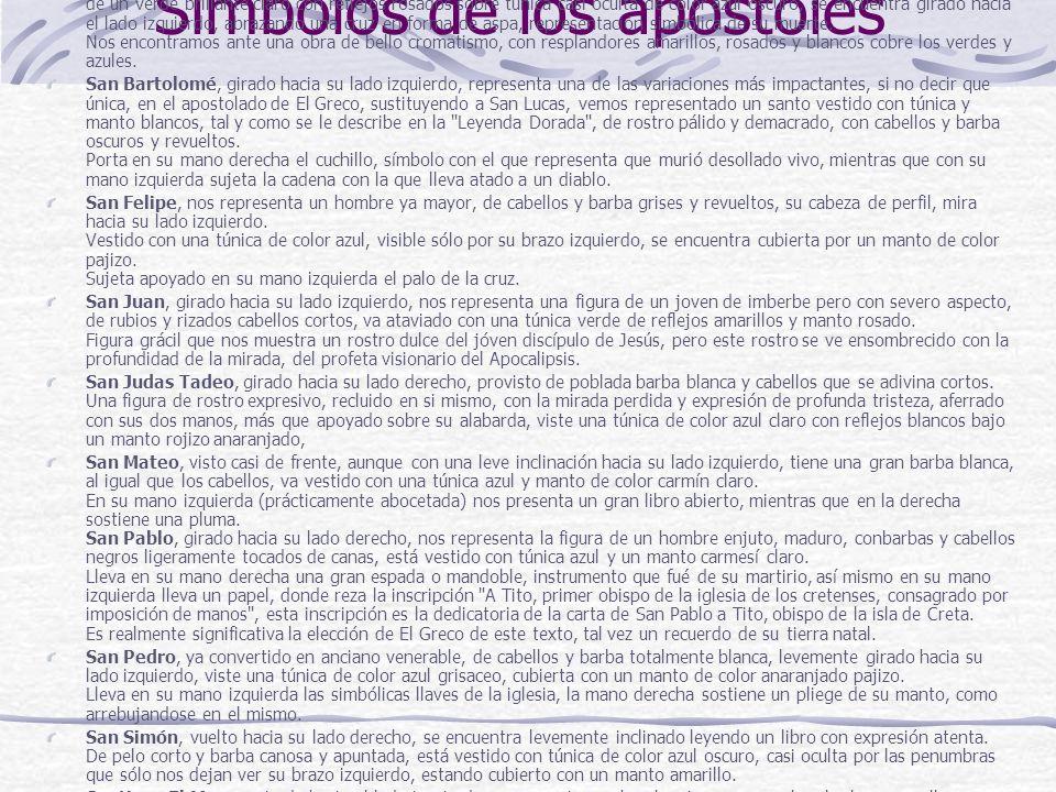 Símbolos de los apóstoles