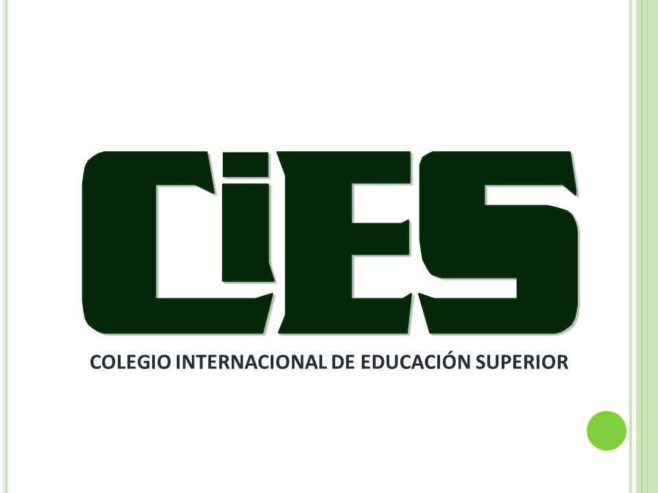 COLEGIO INTERNACIONAL DE EDUCACIÓN SUPERIOR
