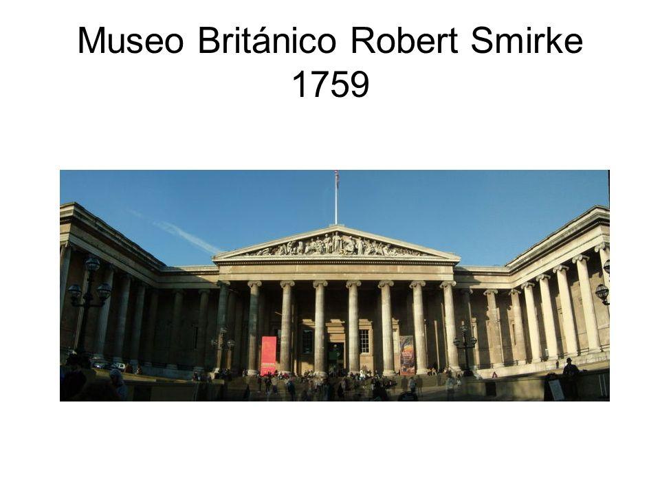 Museo Británico Robert Smirke 1759