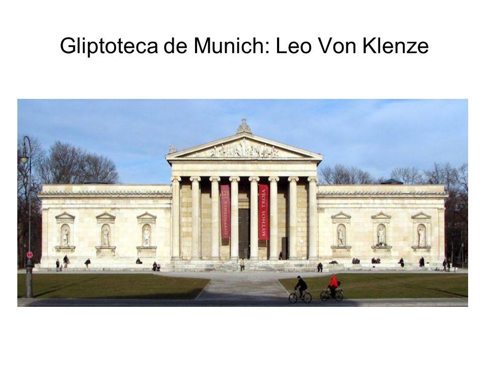 Gliptoteca de Munich: Leo Von Klenze