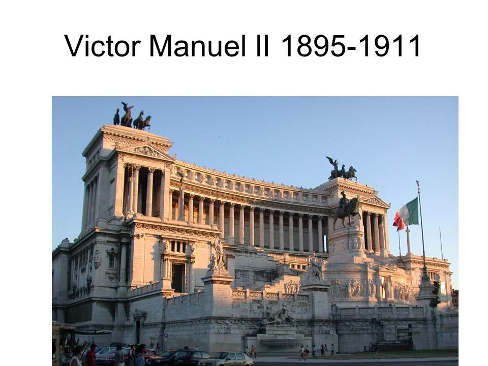 Victor Manuel II 1895-1911