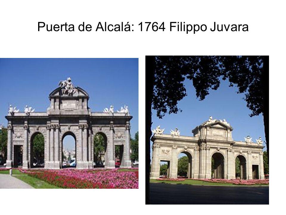 Puerta de Alcalá: 1764 Filippo Juvara